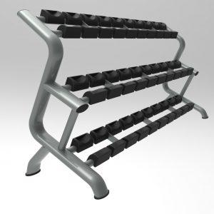 Dumbbell Rack (15 pairs)